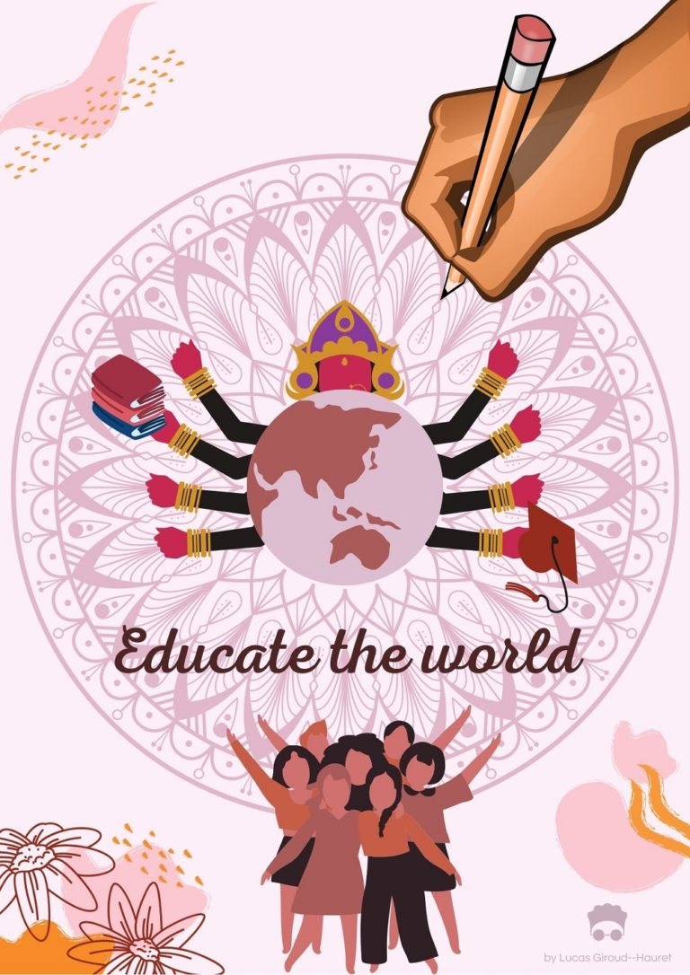 Educate the world - Lucas Giroud-Hauret