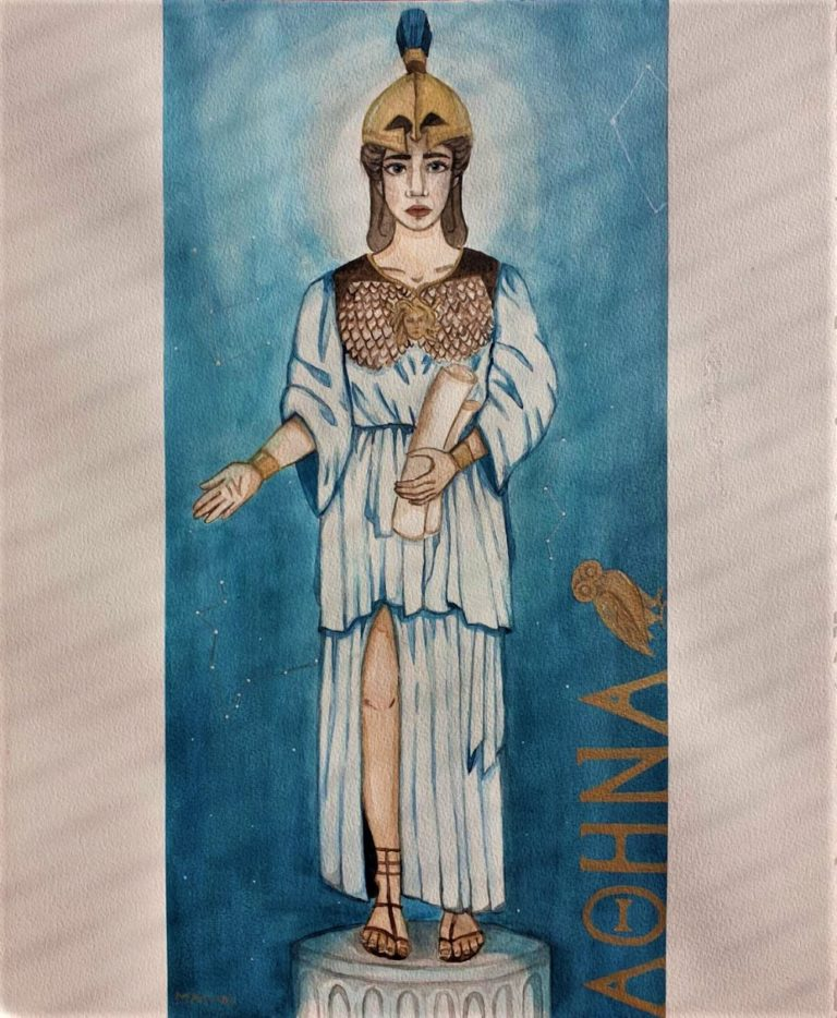 The Goddess of Wisdom - Anissa Madani